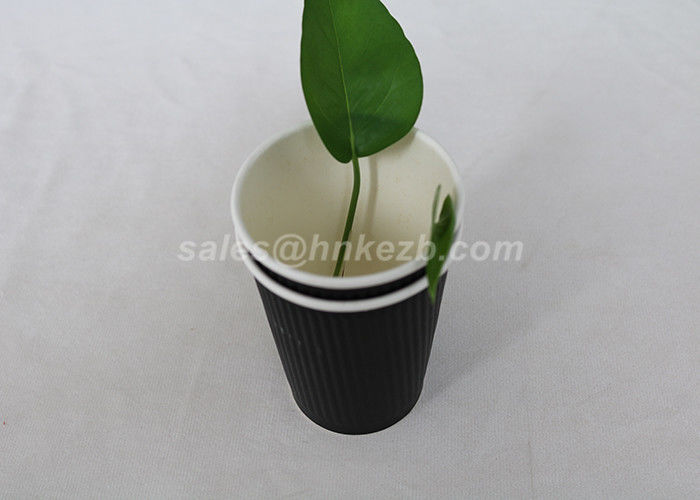 To Go Coffee Paper Cups Insulated Disposable Coffee Cups Logo Printed