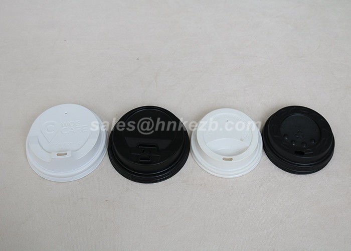 8oz Paper Cup Lid /  Coffee Hot Cup Lids For Starbucks Coffee Cup PS Materials