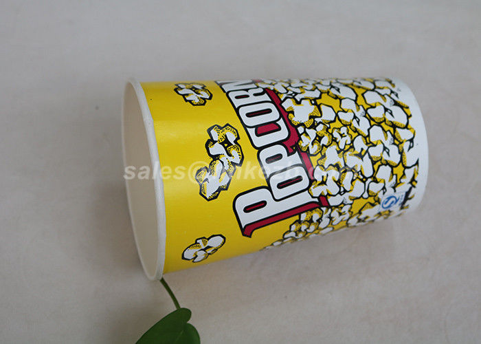 OEM PLA Lined Insulated Disposable Coffee Cups Double Wall For Popcorn