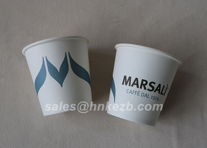 12oz Good Printing PE Coated Disposable Single Wall Paper Cups Food Grade